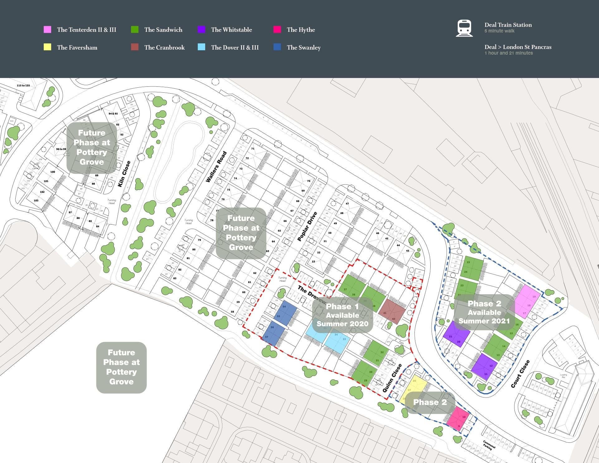Pottery Grove Siteplan Mobile