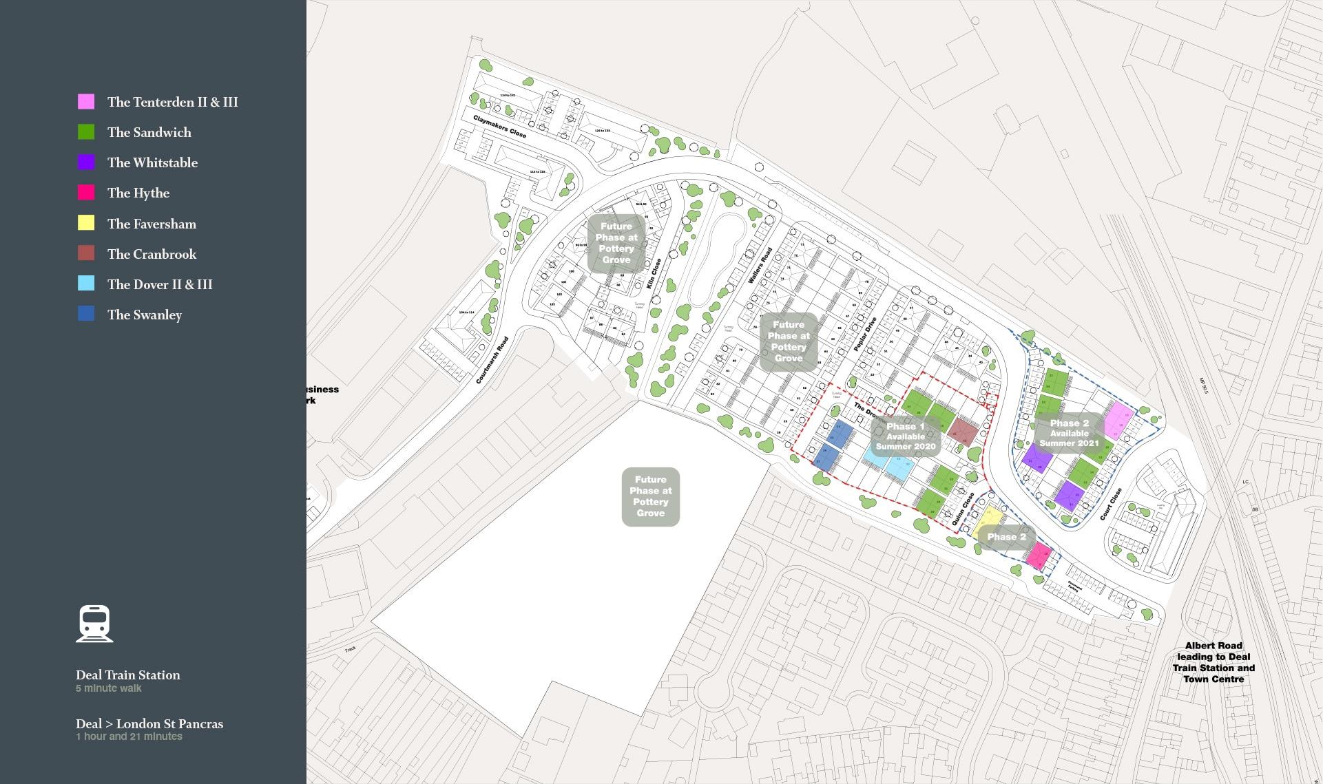 Pottery Grove Siteplan
